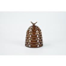 Chine fournisseurs multiples couleur café en grains alimentaire en céramique décor à la maison boîte métallique