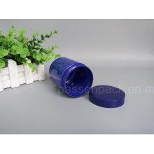 Haustier Plastik Kosmetik Verpackung Flasche in blauer Farbe (PPC-80)