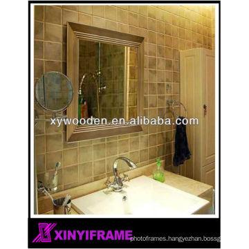 Handmade Framed Wooden Hair Salon Wall Mirror