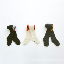Hot Selling Kids Cotton Pantyhose Cartoon Tights Made From Good Quality Cotton