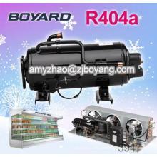 Comida Freezer 220v/50Hz exposição ac refrigeração rotativo compressor toshiba com o congelamento de unidades