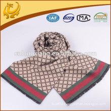 China Factory Simple Design Winter Silk Scarf Wholesale