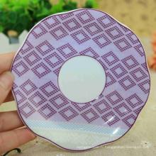 Plaques en mélamine de tournesol émaillées de porcelaine de qualité supérieure