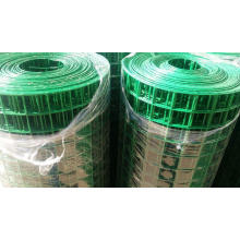 "PVC Coated Welded Wire Mesh 1/4"" for Fencing"