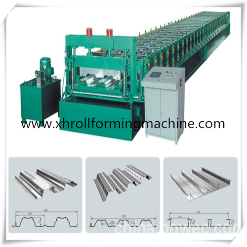 Deck Forming Machine For Construction Materials