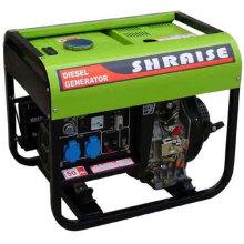 Générateur de diesel à 3 KW à refroidissement par air avec moteur à chambre à 4 temps