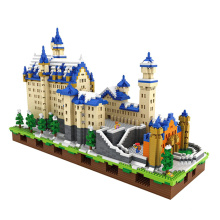 6800PCS Neuschwanstein Design ABS Nano Blocks (10261301)