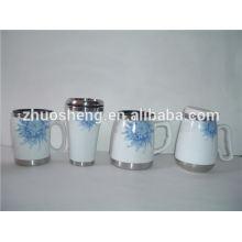 new style product bulk buy from china ceramic travel mug, painting ceramic mug
