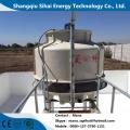 Planta de destilación de petróleo del transformador de residuos