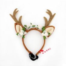christmas pet animal head hairdress