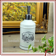 victorian style ceramic soap dispenser