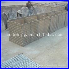 Muro de bastión galvanizado de los hesco del estándar americano para los militares
