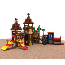 High Quality for Favourite Modern Castle Amusement Park Playground Equipment Play Station supply to Zambia Factory