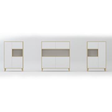 vertical office cabinet modern storage wooden filing cabinet