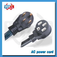 UL CUL 50A 30A 125V 250V NEMA 14-50P to NEMA 14-50R power cord