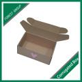 Caja de embalaje ondulada de cartón corrugado personalizado sin pegamento