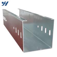 Bandeja de cabo entalhada metal do SS 304/316 de 100x50mm Hdg