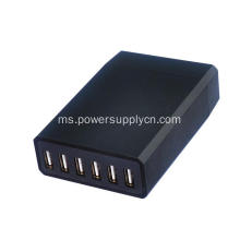6 Port USB Charger Travel Adapter