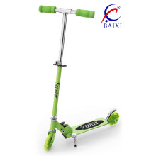 Scooters de patín de la rueda de la PU de 120m m que destella (BX-SK351)