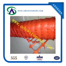 Cerca de segurança de alta qualidade HDPE laranja e vermelho plástico (ADS-SF-14)