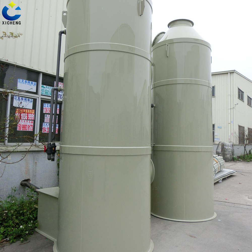 Green facilities Waste gas treatment production