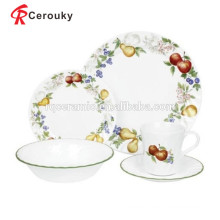 Stoneware dinnerware set turkish dinnerware set