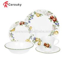 Torradeira louça conjunto turco dinnerware conjunto