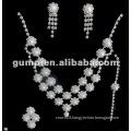 Latest bridal wedding jewelry set (GWJ12-544)