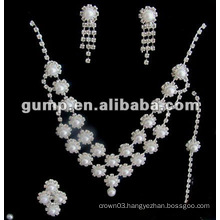 Latest bridal wedding jewelry set (GWJ12-544)
