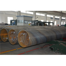 Exterior 3PE Revestido Interior Fusion Bounded Epoxy Coated Água Potável Tubo de Aço
