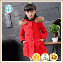 Filles d'hiver manteaux photos XMAS mode rouge populaire vestes vêtements enfants italiens hiver manteaux fourrure hoodie filles manteau de mode