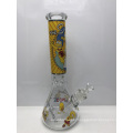 7mm Glass Beaker Bongs with Simpsons Cartoon Characters
