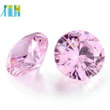 Alta qualidade AAA preço barato RD solto cz pedra polida solta rougn diamante