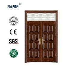 Porte en acier non standard avec fenêtre d'air (RA-S176)