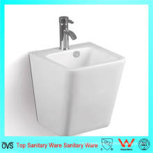 High Quality Pedestal Wall Hung Bathroom Ceramic Wash Basin