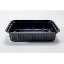 Прямоугольная одноразовая пластиковая коробка для завтрака PS