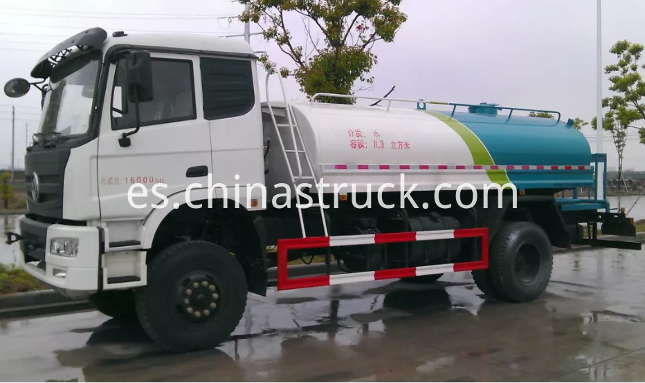 Dongfeng AWD 4x4 water sprinkler truck