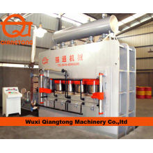 Wuxi Qiangtong YX2400T 7*9 short cycle pressing line/ melamine laminating machine