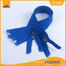 Nylon Cremallera Anti tirón personalizado de cremallera Fabricante ZN20005