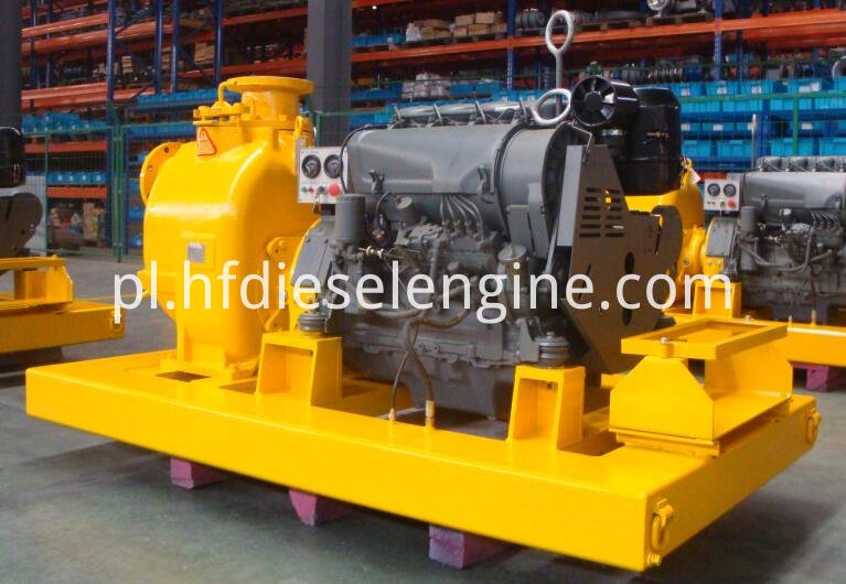 diesel water pump unit