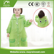 Kid' s Polyester Raincoat and Poncho