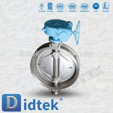 Didtek Triple Offset DN80 PN16 Wafer Type Butterfly Valve