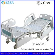 China Supplier Hospital Furniture Elektrische Multifunktions Medical Bed / Krankenhaus / Krankenpflege Bett