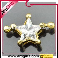 Мода горный хрусталь звезды кулон