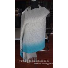 Venta caliente de cachemira y lana bufanda / chal