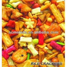 Snack food Biscoito de arroz misturado japonês para festas