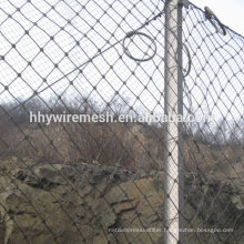 high quality rockfall barrier netting slope protection rockfall fence barrier
