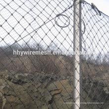 alta qualidade rockfall barreira compensação de inclinação proteção rockfall cerca barreira