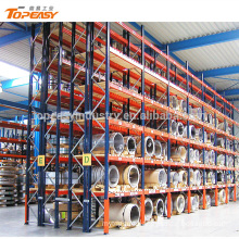 Pallet racking system heavy duty double deep rack