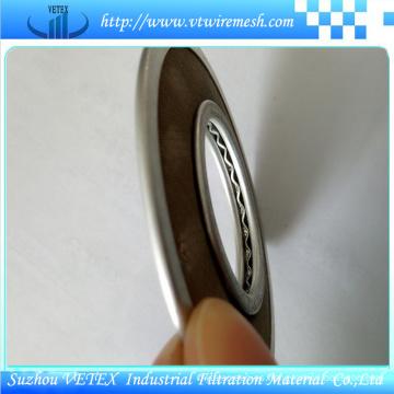 Disco de filtro de acero inoxidable utilizado para la pantalla